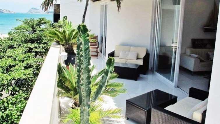 Balcony at Vinicius Apartment