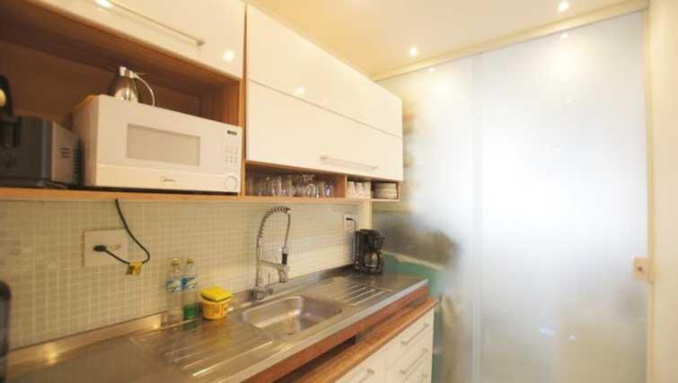 Kitchen at Vinicius Apartment
