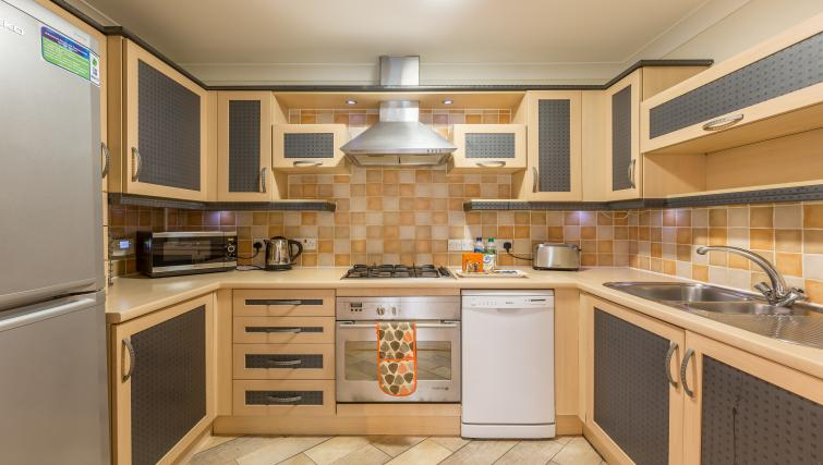 Kitchen at the Stanshawe Court Apartments