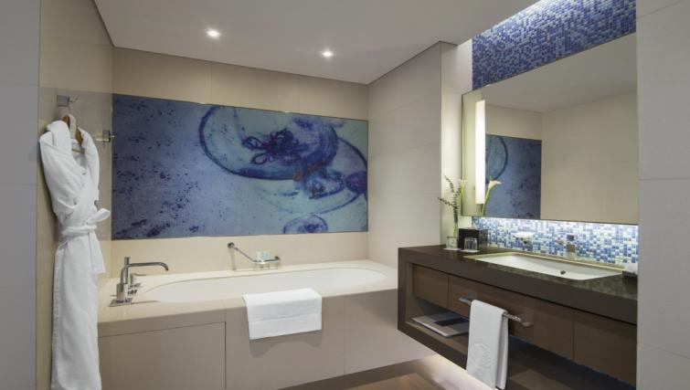 Bath at Capital Centre Arjaan Apartments