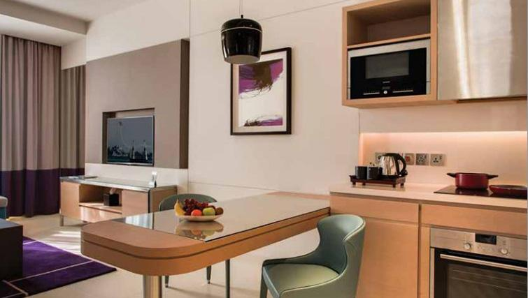 Kitchen at Capital Centre Arjaan Apartments