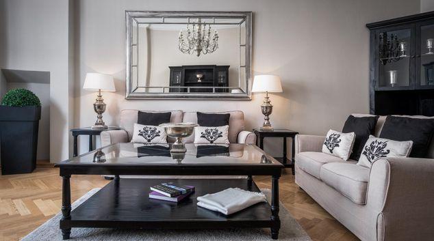 Living room at  Palacina Berlin Apartments