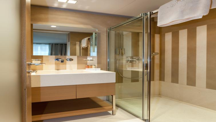 Bathroom at Guillaume Suites