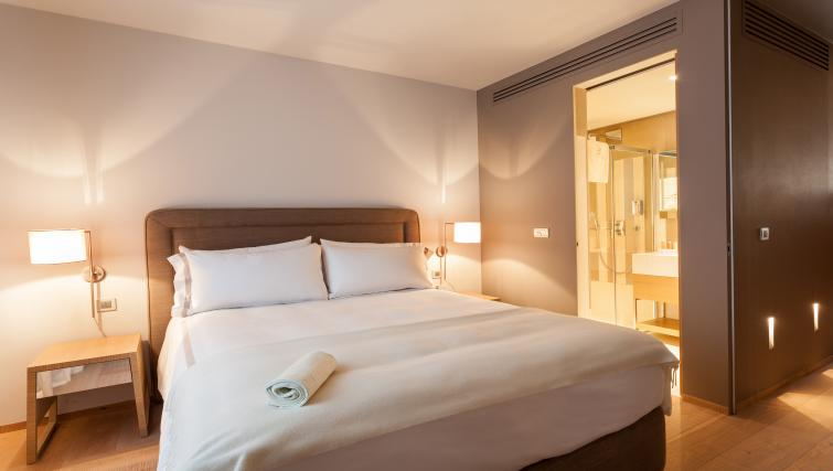 Bedroom at Guillaume Suites
