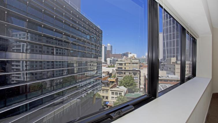 Views from Astra Apartments Melbourne CBD