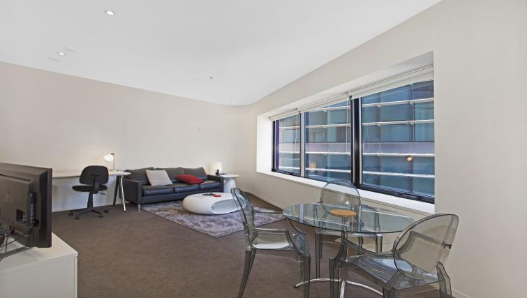 Dining table at Astra Apartments Melbourne CBD