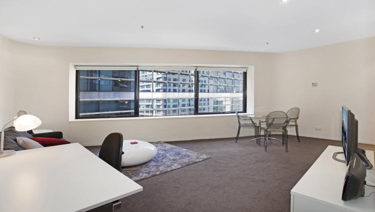 Work desk at Astra Apartments Melbourne CBD