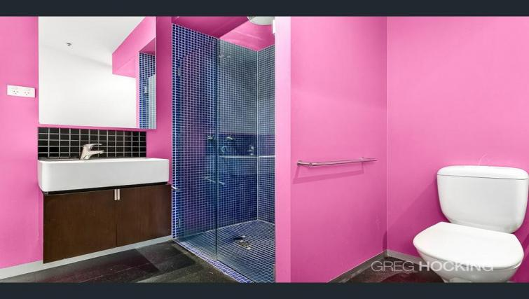 Shower at Astra Apartments Melbourne CBD