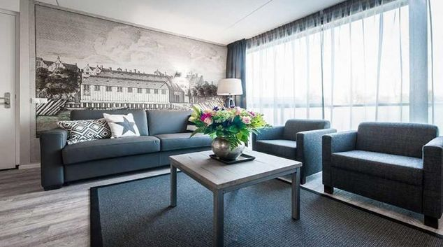 Living area at Yays Bickersgracht, Amsterdam