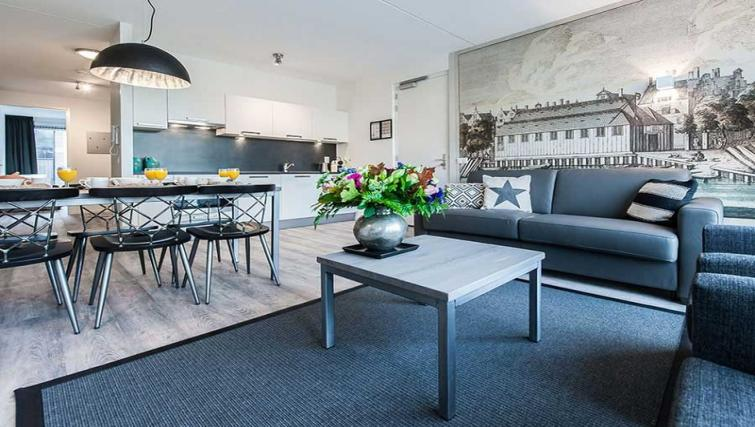 Living room at Yays Bickersgracht, Amsterdam