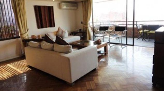 Living area at Gloria Santiago Apartment