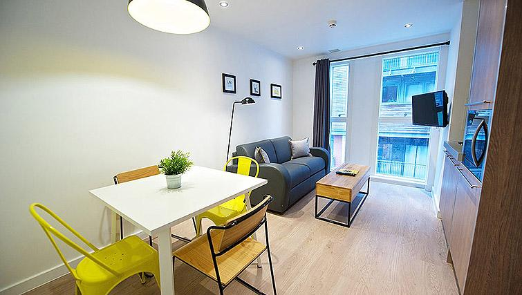 Stylish living space at Staycity Birmingham Newhall Square