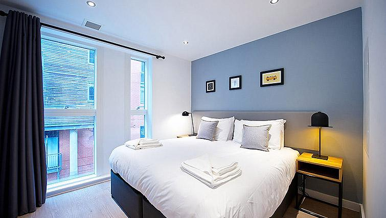 Bed at Staycity Birmingham Newhall Square