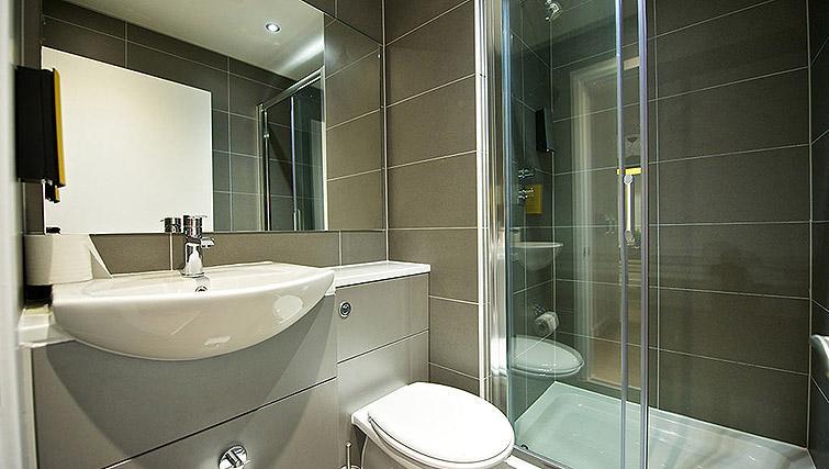 Bathroom at Staycity Birmingham Newhall Square