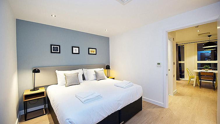 Double bedroom at Staycity Birmingham Newhall Square