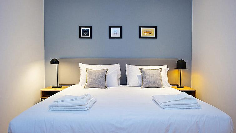 Double bed at Staycity Birmingham Newhall Square