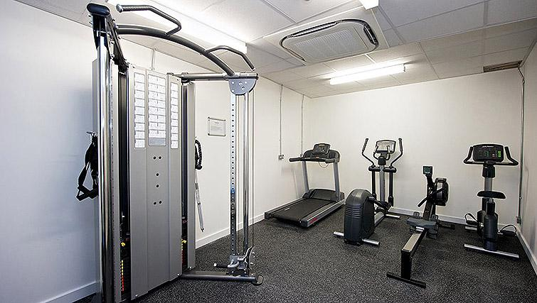 Gym at Staycity Birmingham Newhall Square