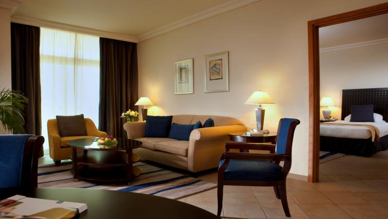 Lounge at Beach Rotana All Suites