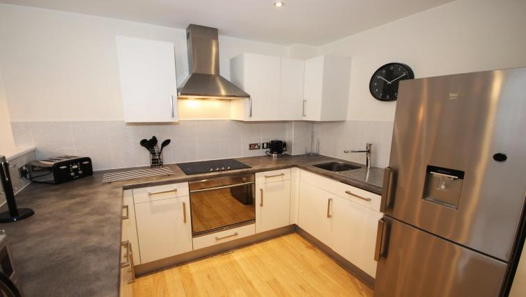 Kitchen at Friarsgate Apartments