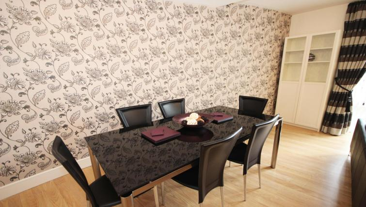 Dining area at Friarsgate Apartments
