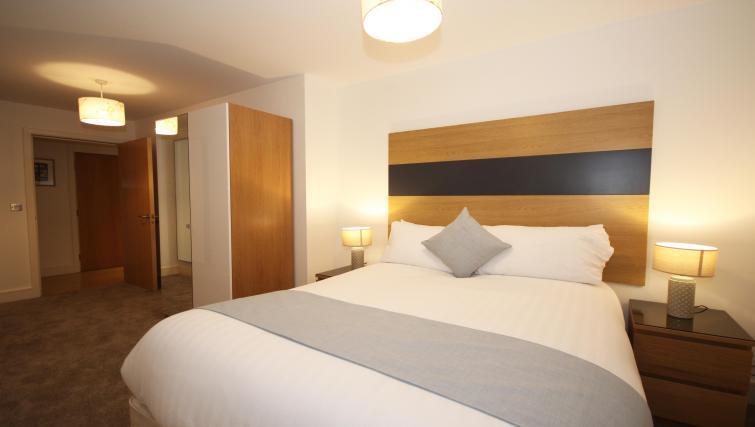 Bedroom at Friarsgate Apartments