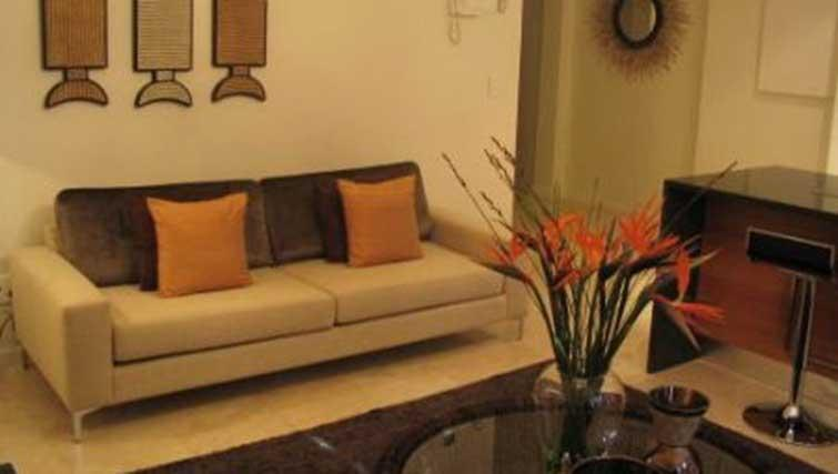 Sofa at Market House Apartment