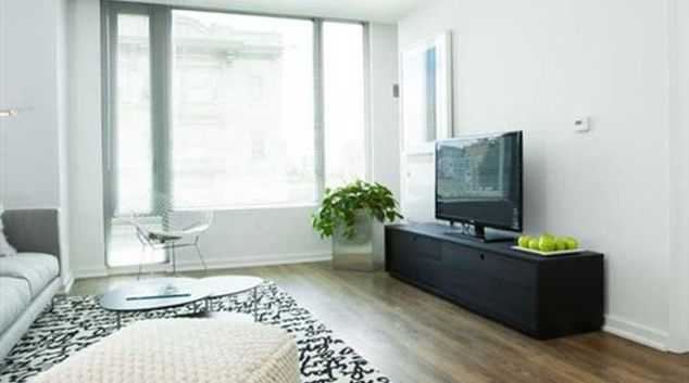 Living area at Mosso Apartments