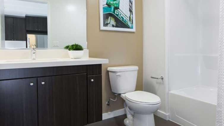 Bathroom at Mosso Apartments