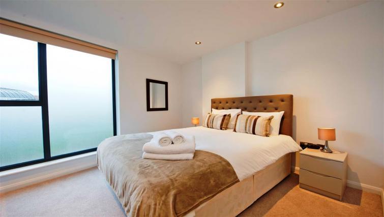 Living area at Flying Butler London Bridge Apartments