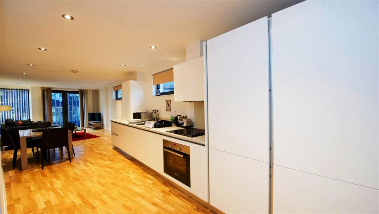 Kitchen at Flying Butler London Bridge Apartments