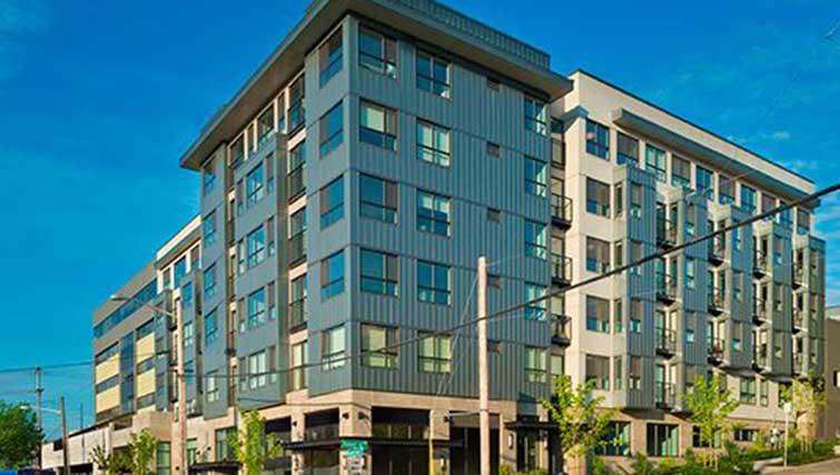 South Lake Union Apartments, Seattle, SilverDoor Apartments