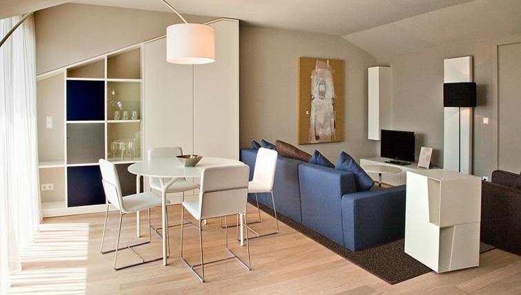 Living area at Four Stars Aparthotel