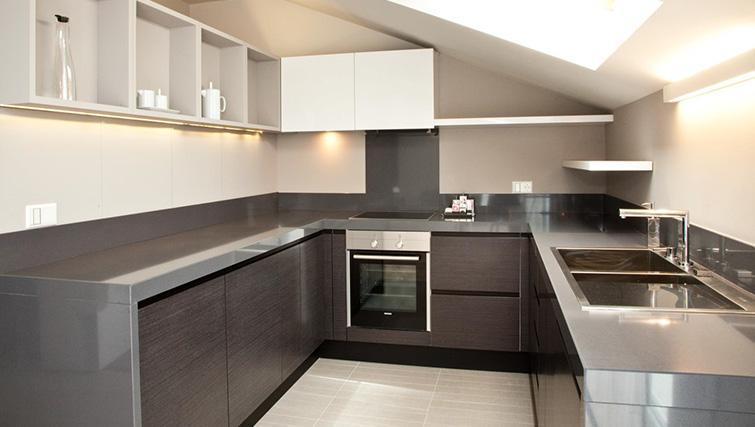 Kitchen at Four Stars Aparthotel