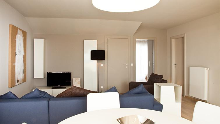 Living space at Four Stars Aparthotel
