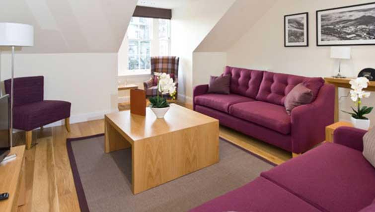 Sofas at Princes Street Residence