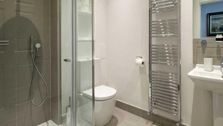 Bathroom at Princes Street Residence