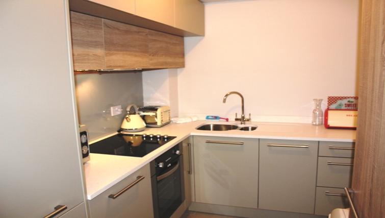 Kitchen at Herbert Park Apartment