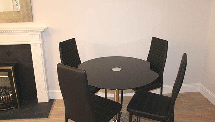 Dining area at Herbert Park Apartment