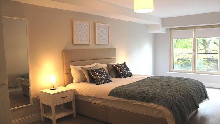 Bedroom at Herbert Park Apartment