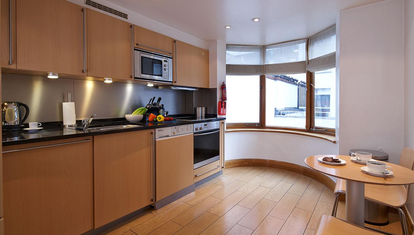 Kitchen at Cheval Knightsbridge - Montpelier Mews Apartments