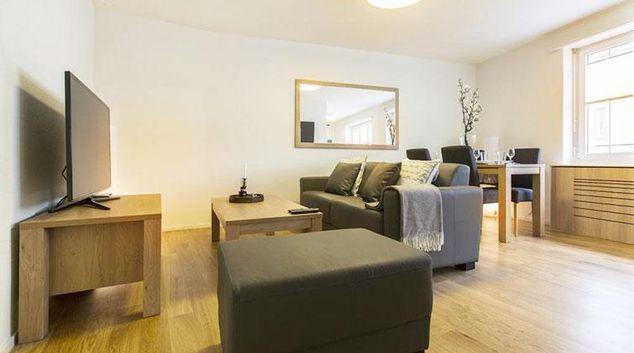 Living room at Nest Klingelbergstrasse Apartment