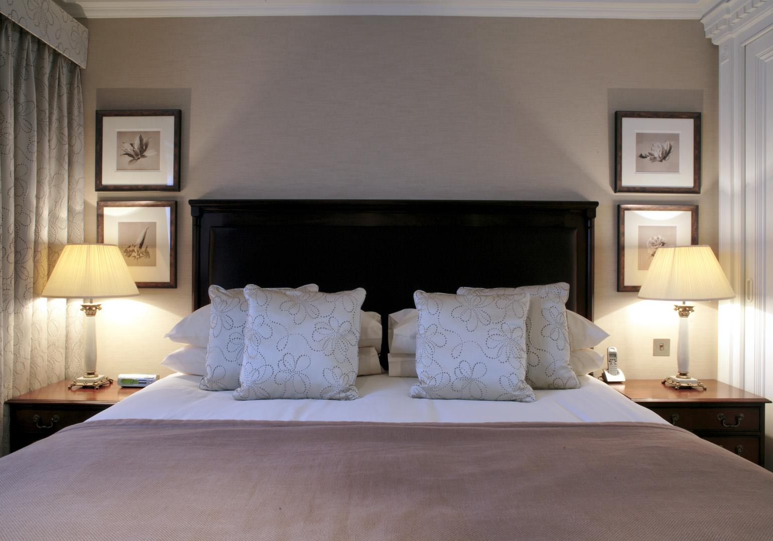 Bed at 148 Cheval Brompton Road, Knightsbridge, London