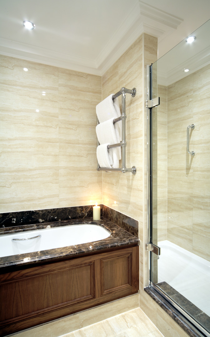 Bathroom at 148 Cheval Brompton Road, Knightsbridge, London