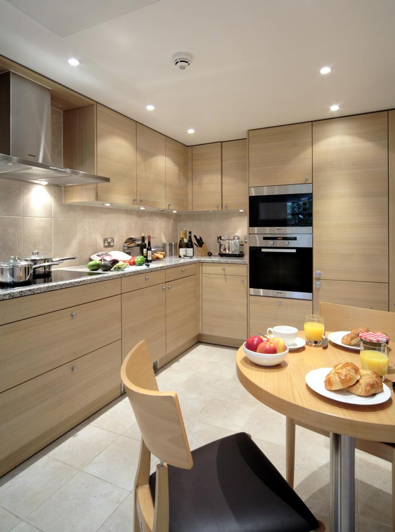 Kitchen at 148 Cheval Brompton Road, Knightsbridge, London