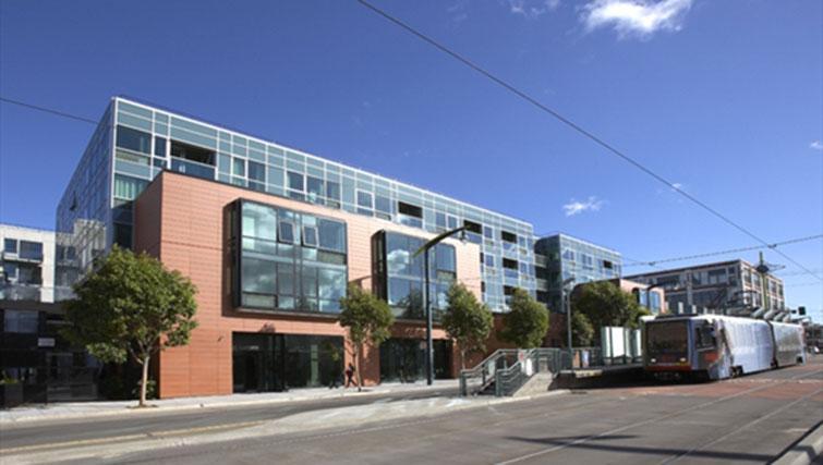 Exterior of Potrero Launch Apartment