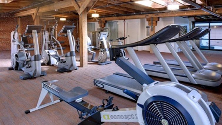 Gym at Potrero Launch Apartment