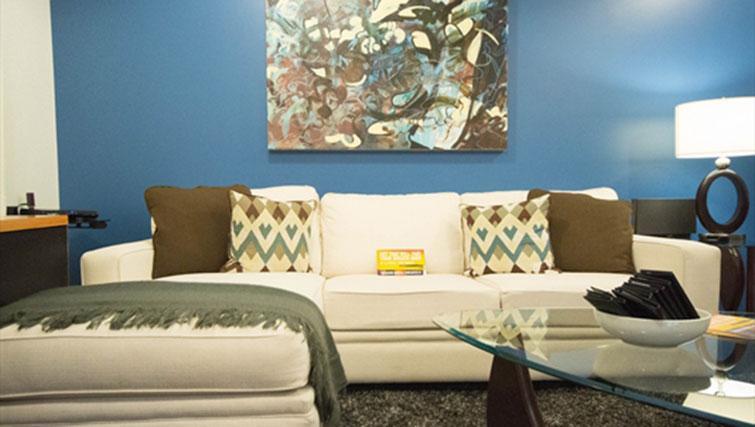 Sofa at Potrero Launch Apartment