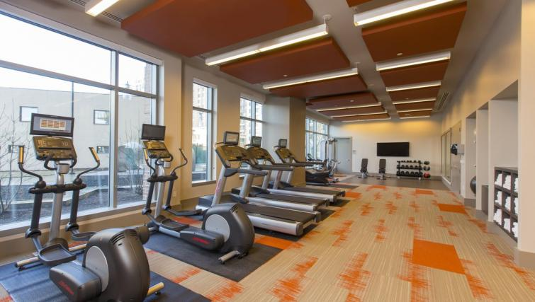Fitness centre at Gallery Bethesda Apartments