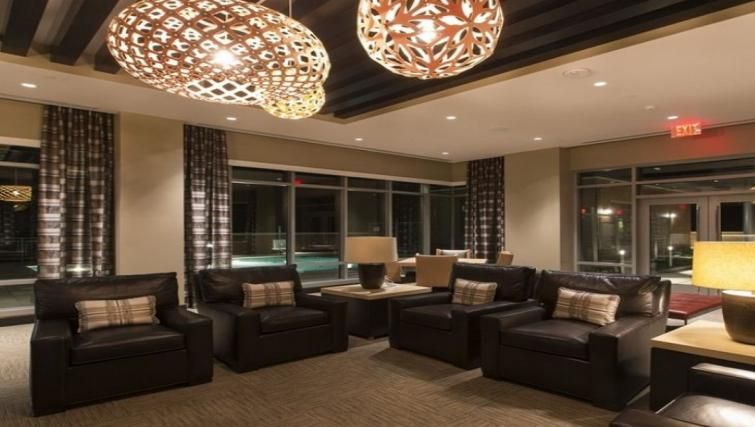 Communal lounge at Gallery Bethesda Apartments