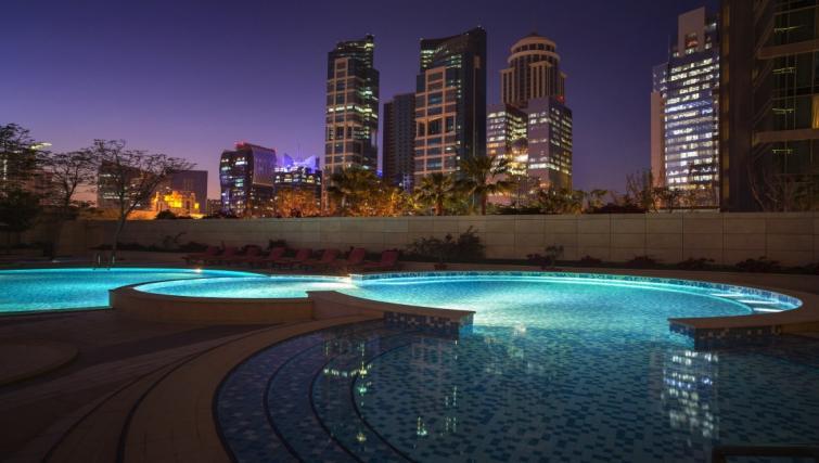 Pool at City Centre Rotana Apartments